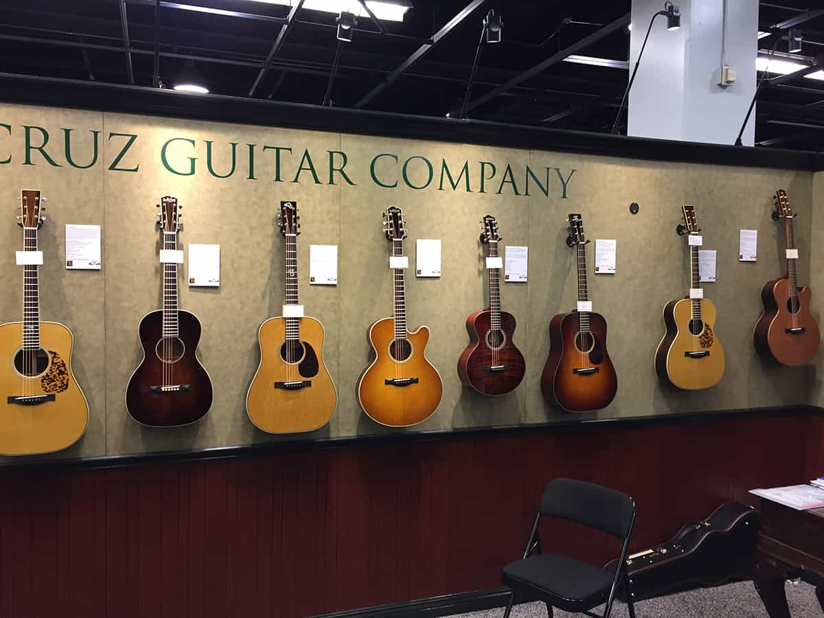 Santa Cruz Guitars at NAMM 2018