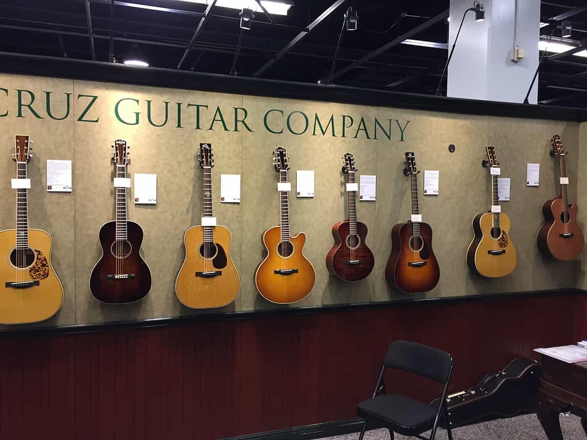 Santa Cruz Guitars at NAMM 2018