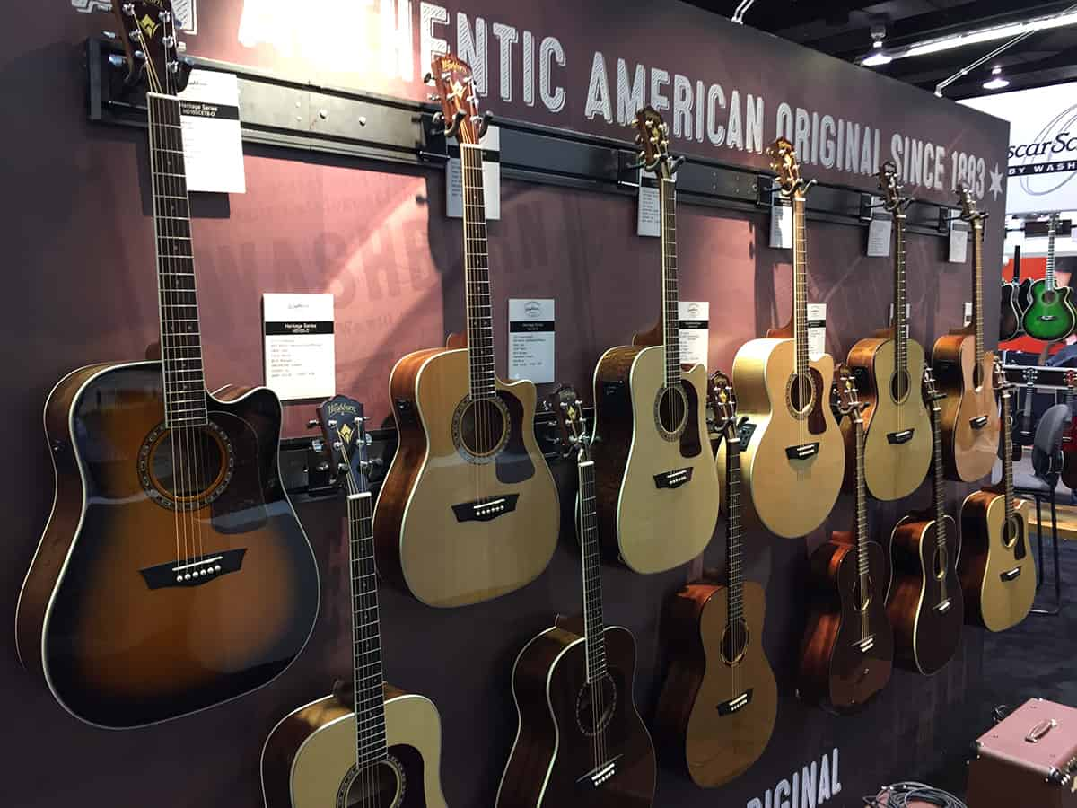 Washburn at NAMM 2018