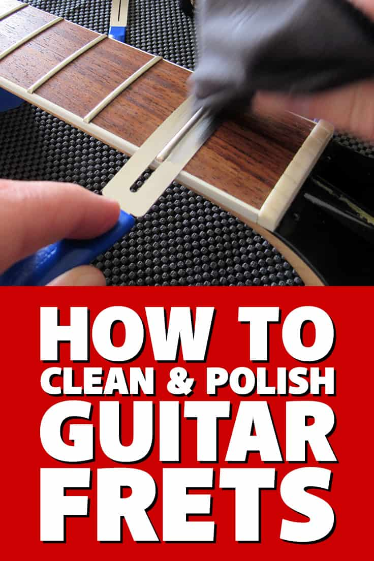 How to clean & polish #guitar frets - the fast, easy, DIY way