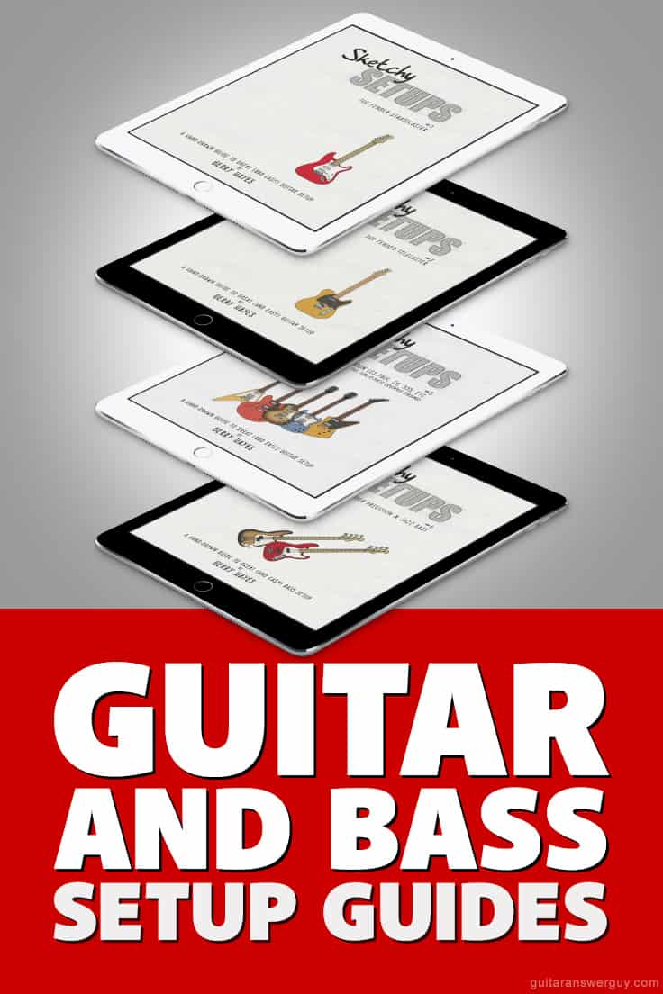 Learn to set up your guitar or bass with these no-nonsense and easy-to-follow setup guides