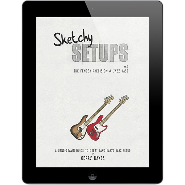 Sketchy Setups #4: The Fender Precision & Jazz Basses
