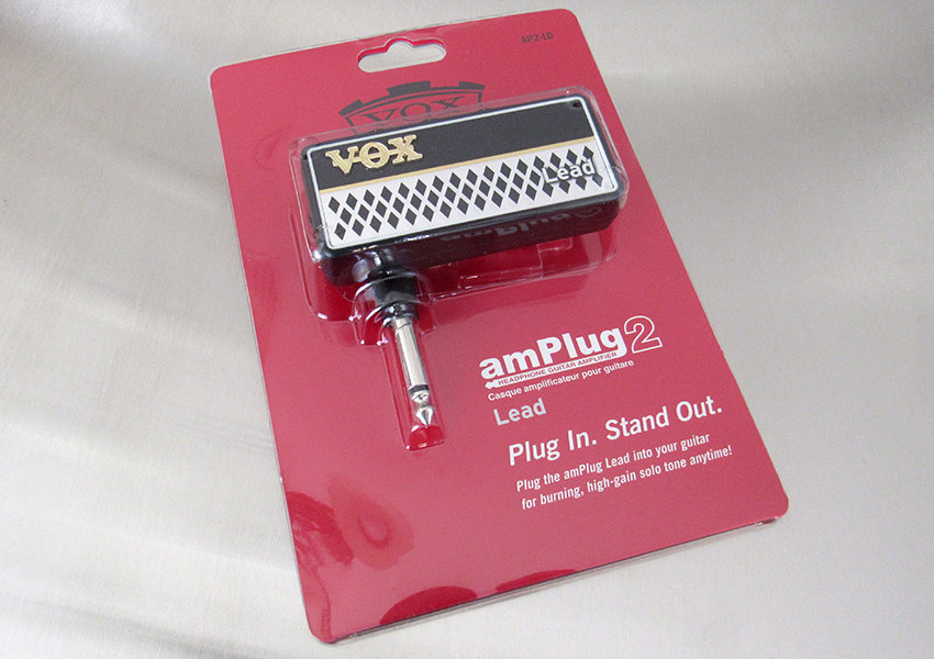 VOX amPlug 2 Lead box, front