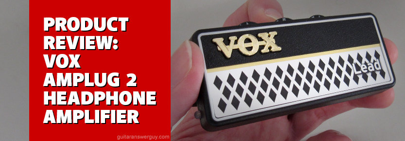 VOX amPlug 2 Lead Guitar Headphone Amp Review