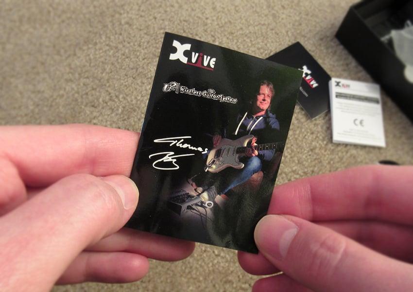 Xvive U2 instruction booklet