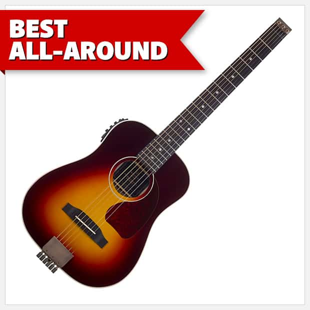The AG-450EQ earns the title of Best All-Around travel guitar