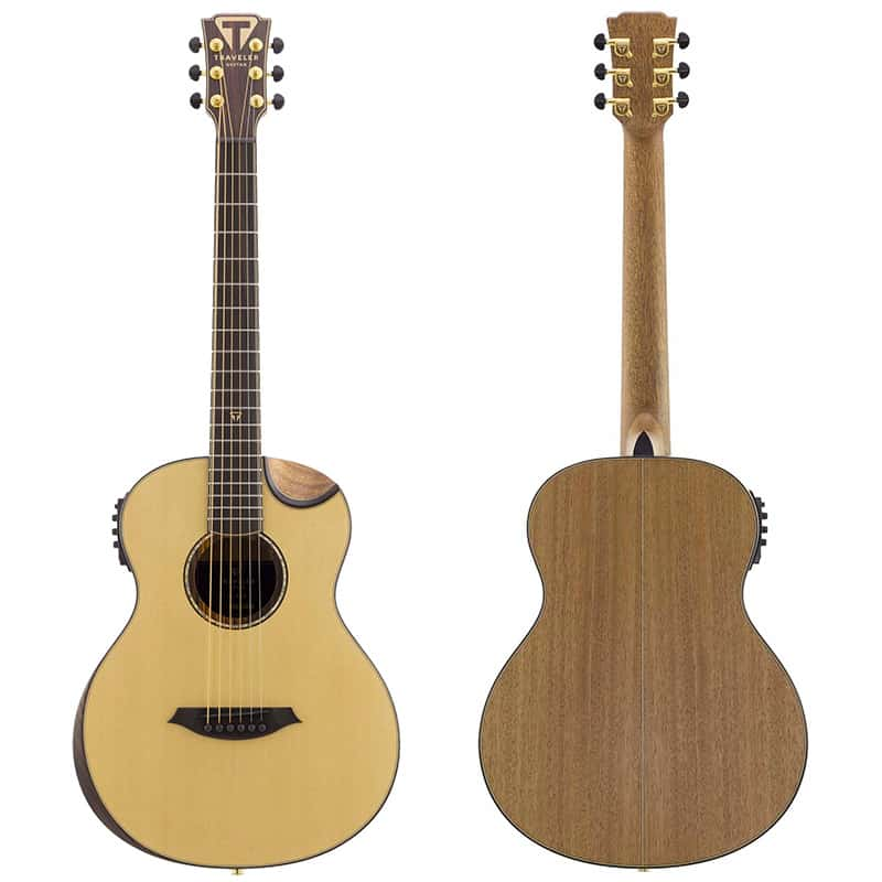 Traveler Guitar CL-3EQ Acoustic-Electric Travel Guitar
