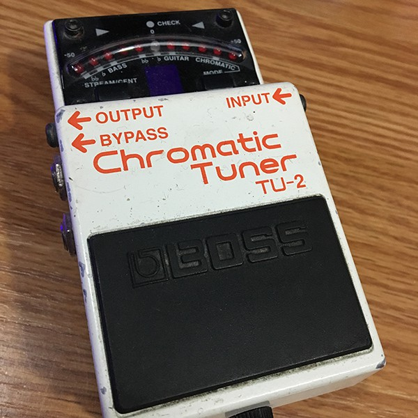 Boss TU2 Chromatic Guitar Tuner Pedal