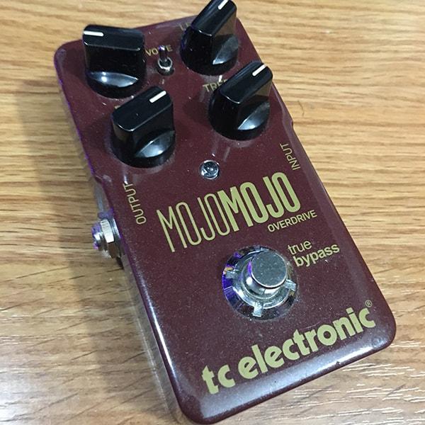 TC Electronic MojoMojo Overdrive guitar pedal