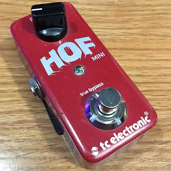 TC Electronic Hall-of-Fame Mini guitar reverb pedal