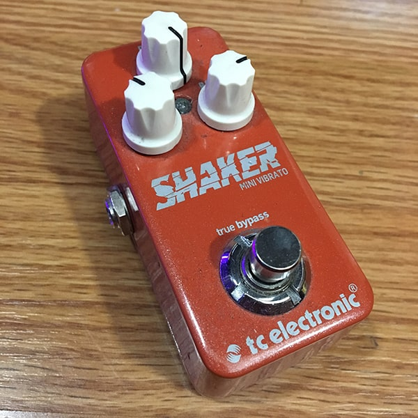 TC Electronic Shaker Mini Guitar Pedal