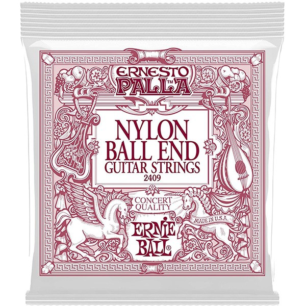 Ernie Ball Ernesto Palla Nylon Ball End Guitar Strings
