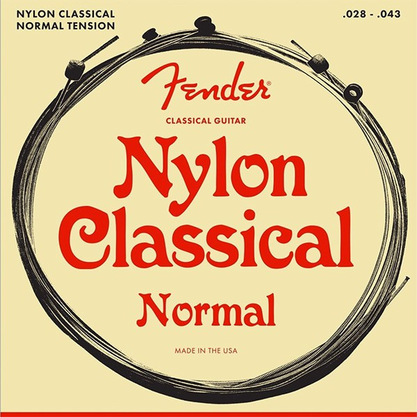 Fender Nylon Classical Ball End Acoustic Guitar Strings