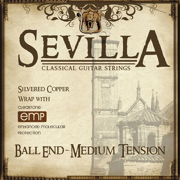 Cleartone Sevilla Classical Ball End Acoustic Guitar Strings
