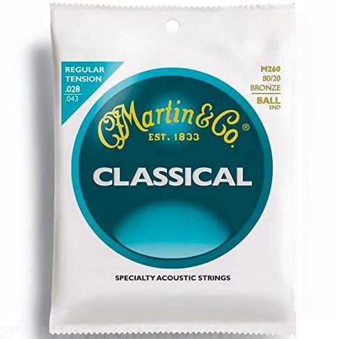 Martin M260 Ball-End Classical Nylon Guitar Strings