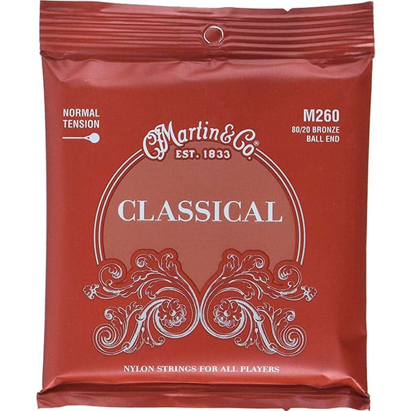 Martin M260 Classical 80/20 Bronze Ball-End Strings .028 - .043