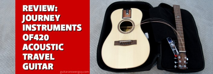 Journey Instruments OF420 Acoustic Travel Guitar Review