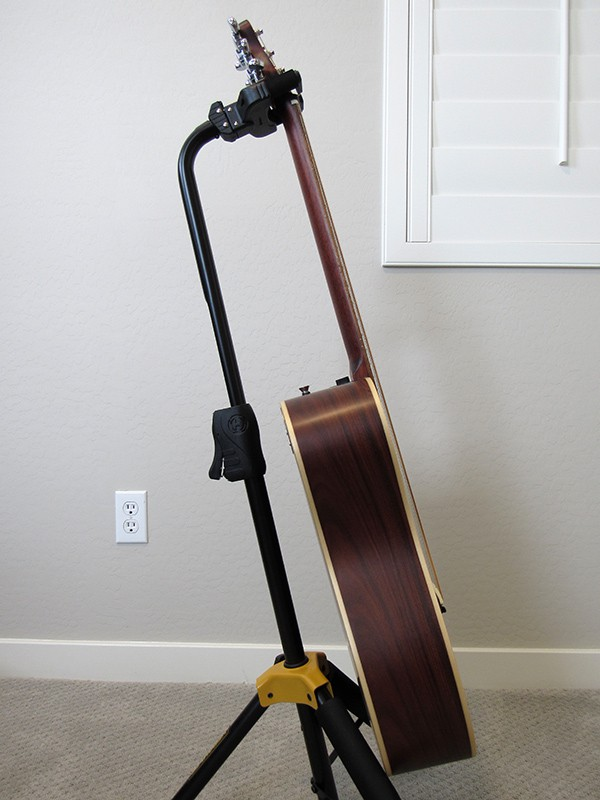 Journey OF420 Acoustic-Electric Travel Guitar - Side