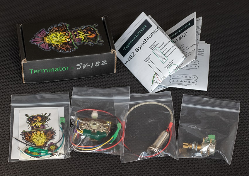 Solderless Guitar Wiring Kits