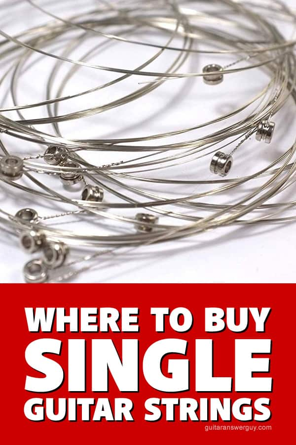 Where to Buy Single Guitar Strings