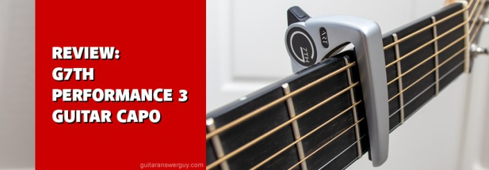 Product Review: G7th Performance 3 Guitar Capo with Adaptive Radius Technology