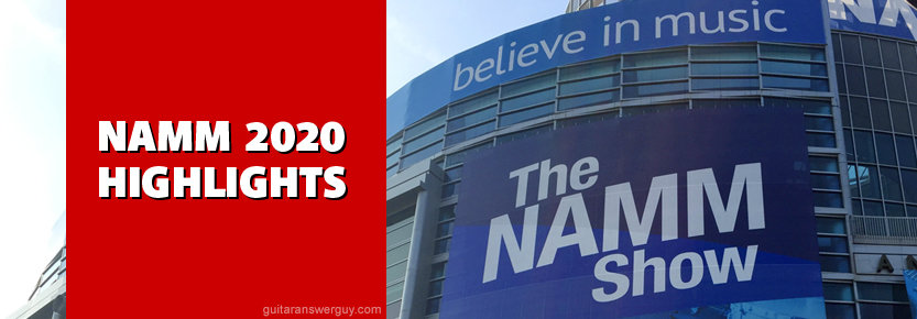 NAMM 2020 Highlights title image