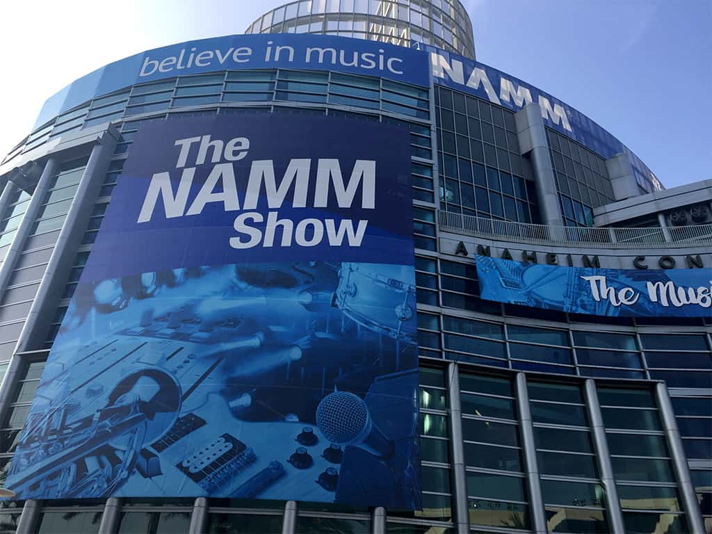 Photo of the Anaheim Convention Center where NAMM 2020 was held