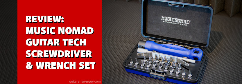 Music Nomad Guitar Tech Screwdriver and Wrench Set