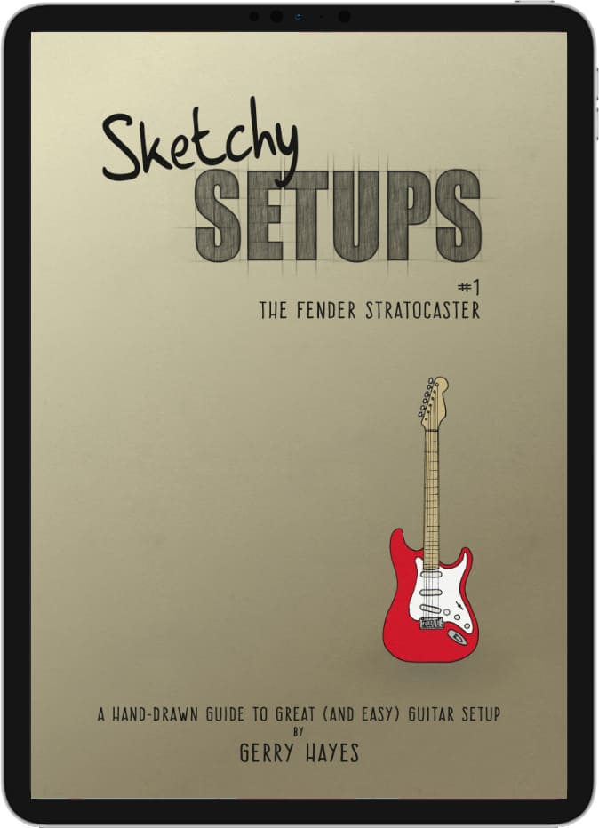 Sketch Setups #1: The Fender Stratocaster