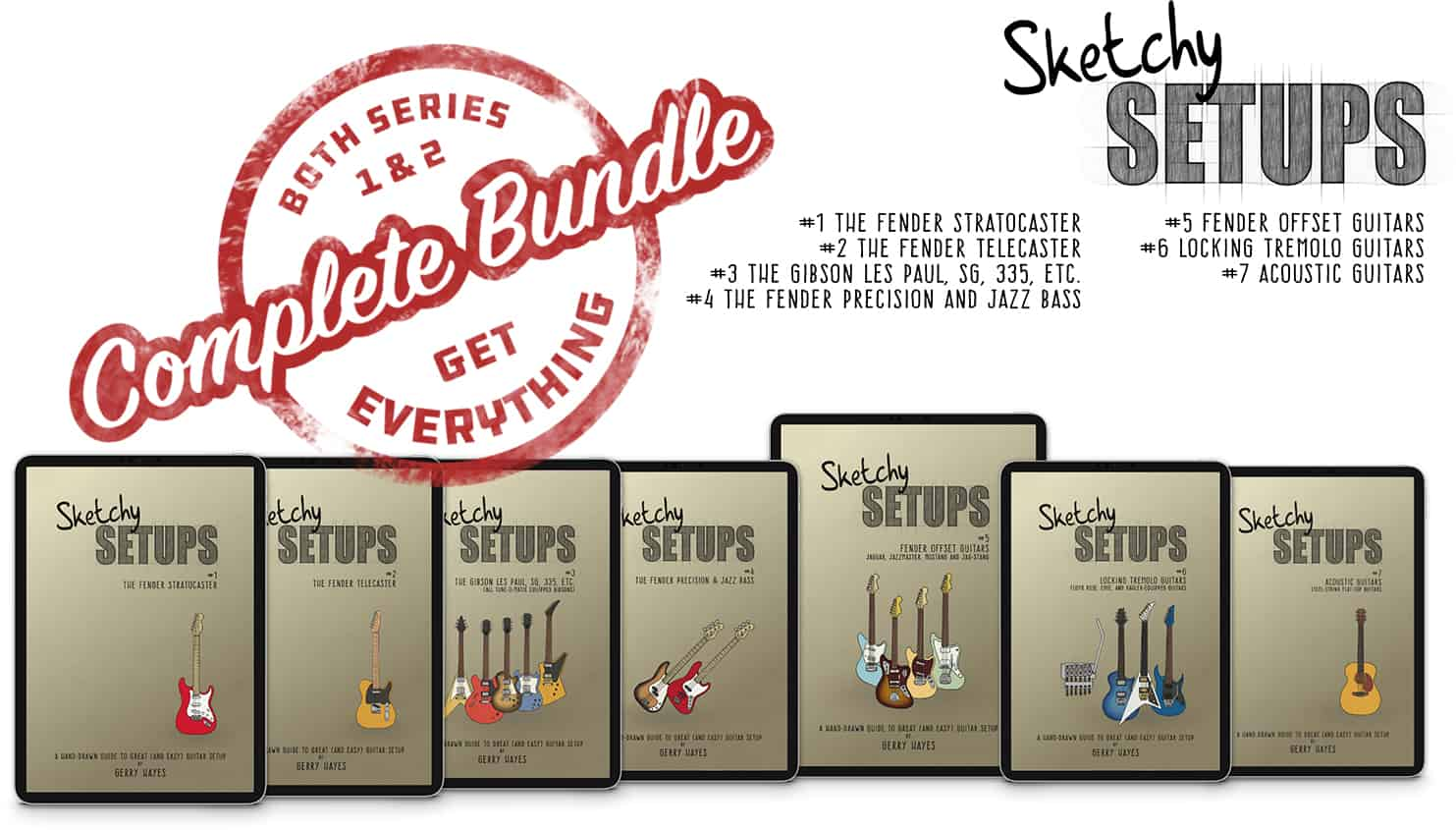 "Sketchy Setups ""Get Everything"" Bundle - All the Guides"