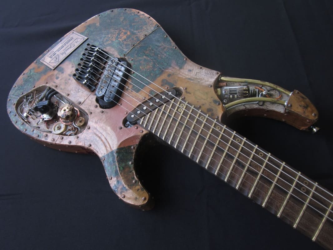 Ormsby Guitars Custom Multiscale SX 7-String