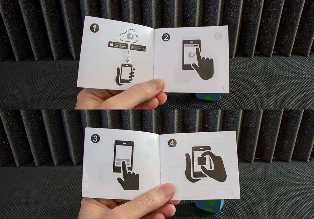 SesorPush instruction booklet